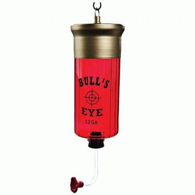 Shotgun Shell Hummingbird Feeder